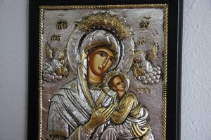 Most Blessed Theotokos, the Mother of our God.
